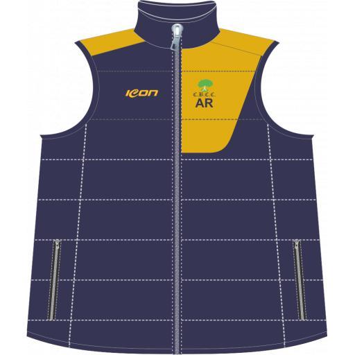 Colwyn Bay CC Puffer Vest